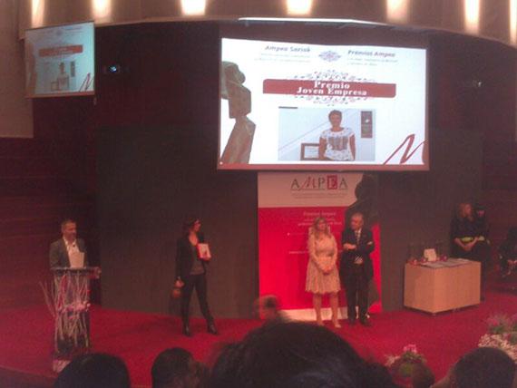 Susana Malón premio joven empresa AMPEA