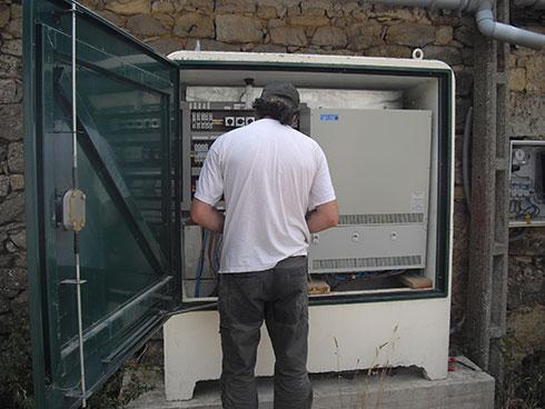 cuadro analizador de redes y equipos eléctricos