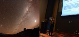 Hemos participado en varios cursos y jornadas en Chile para dar a conocer la nueva normativa lumínica para protección del cielo nocturno en la zona norte del país donde están los telescopios astronómicos profesionales.