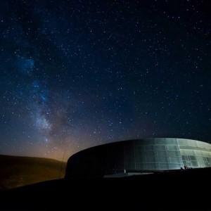 Cielo estrellado en Galáctica