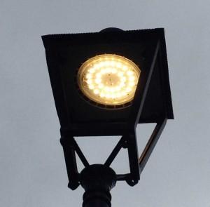 Luminaria para iluminación LED exterior sin contaminación lumínica