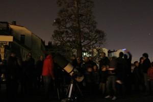 observaciones astronómicas nocturnas