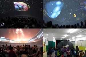 planetario y contaminación lumínica