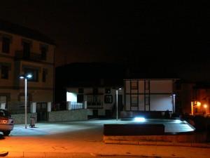 Luminarias con LED azul (temperatura de color > 5000k) . Confort visual inadecuado