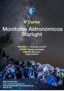 Curso de monitores astronómicos Starlight en Parador de Gredos